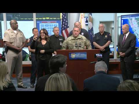 Nor Cal Fires Press Conference Cal OES 10-11-17