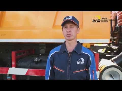 Замена дисковых тормозных колодок передней оси грузовика