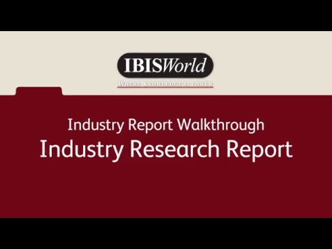 Industry Research Report Overview