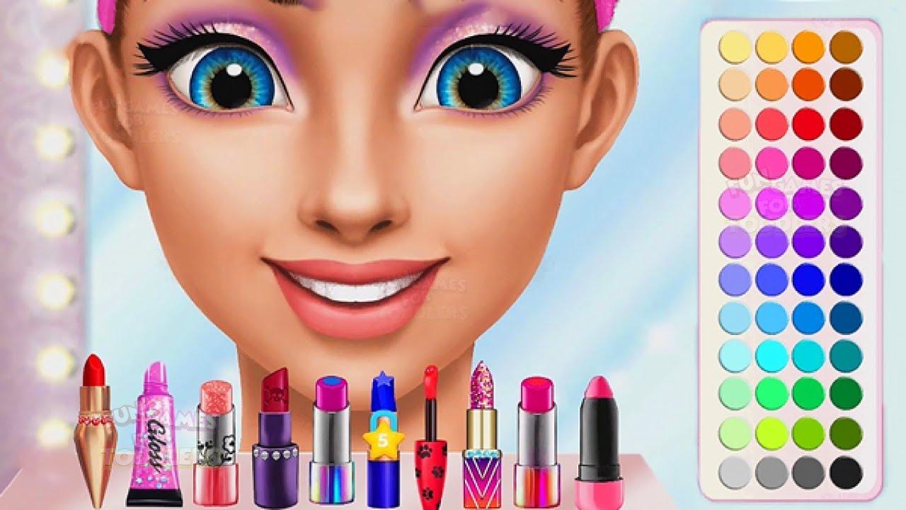 High School Girls Summer Dress Up And Makeup Game Fun
