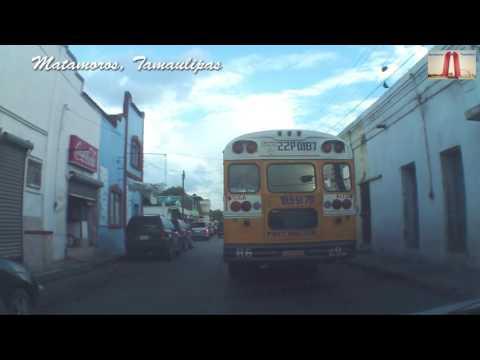 Calles de Matamoros, Tamaulipas, 2016