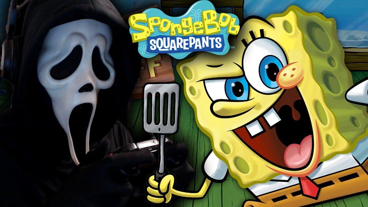 Ghostface Plays SpongeBob: Krusty Cook-Off