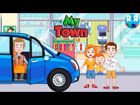 Daddy goes to Mall with Mommy and Ba  My Town Games