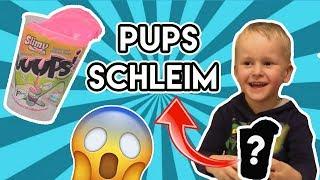 Pups Schleim beim SpielzeugTester - Julian