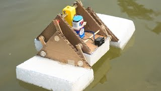 How Make Robot That Run On Surface of Water