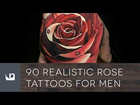 90 Realistic Rose Tattoos For Men