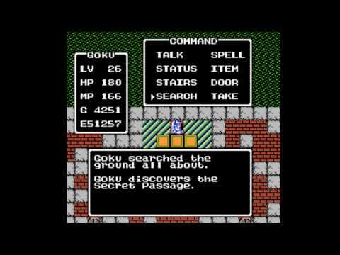 Dragon Warrior NES Charlock Castle Part 1