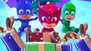 PJ Masks Episode 🎵 Super PJ Christmas! (Official Music Video) | Cartoons for Kids