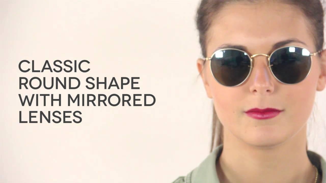... germany ray ban rb3447 round flash lenses polarized sunglasses  visiondirectau b8a4b fc0eb 074fee718466