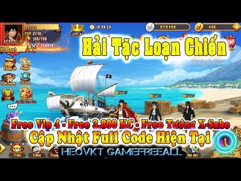 GAME 617: Hải Tặc Loạn Chiến (Android,PC) | Free 3.800 KNB – Free Vip 4 – Free Tướng X-Sapo [HEOVKT]