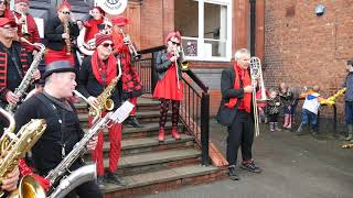 The Peace Artistes Street Band Middlewich 2019