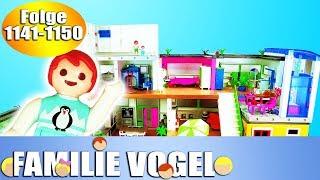Playmobil Filme Familie Vogel: Folge 1141-1150   Kinderserie   Videosammlung Compilation Deutsch