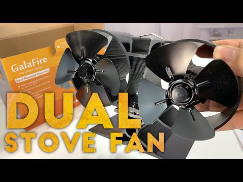 Twin Motor Wood Stove Eco Fan by GALAFIRE Review