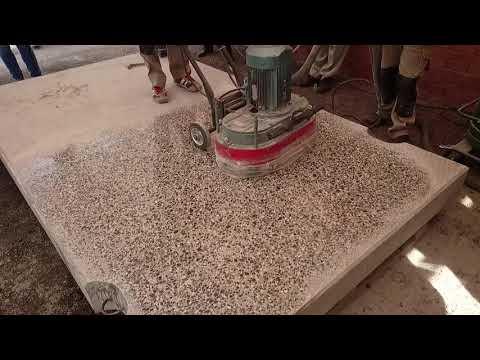 Шлифовка бетона до блеска