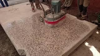 видео Шлифовка бетона