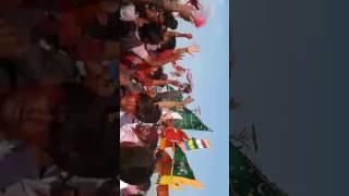 Ramdevpir Mandap Mahostav At Nakara (Manavadar) with Farer Village Dwaja Samaiya 25/04/2017