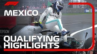 2019 Mexican Grand Prix: Qualifying Highlights