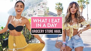 What I Eat in a Day (pt 2) - My Bikini Body Diet - Come grocery shopping with me - Pia Muehlenbeck
