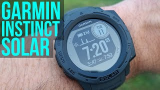 Garmin Instinct Solar Review - Unlimited Battery Life! Can It Compete With Fenix 6?