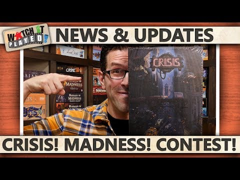News (2019-02-18): A Crisis! March Madness! A Contest!