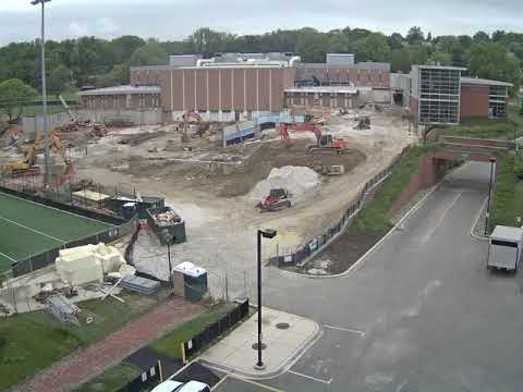 Towson Campus Recreation Expansion Time-lapse - September 2017