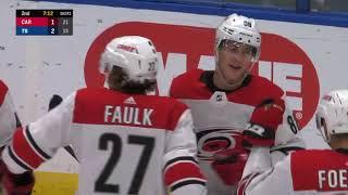 Первый гол Нечаса в НХЛ