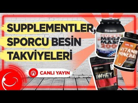 CANLI YAYIN - Supplementler (Sporcu Besin Takviyeleri) Hakkında