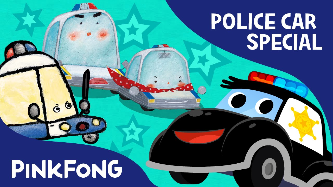 police car special car songs stories mini games compilation pinkfong songs for children youtube