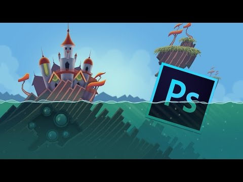 Game Graphic Design tutorial: Learn to create digital 2D Game Graphics in Photoshop from Scratch