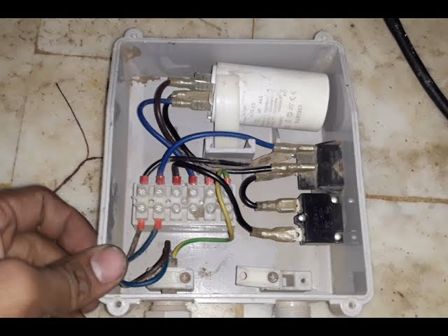Single Phase Submersible Pump Starter In Urdu Hindi Youtube