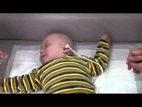 Скрининг слуха у новорожденных