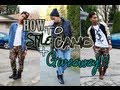 HOW TO STYLE: CAMO + GIVEAWAY (CLOSED) !!!