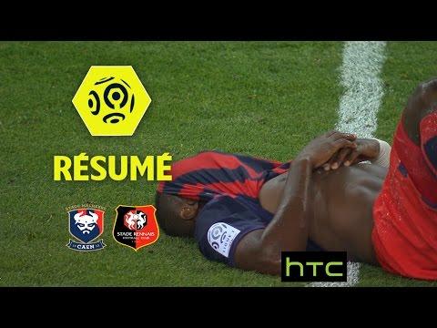 SM Caen - Stade Rennais FC (0-1)  - Résumé - (SMC - SRFC) / 2016-17