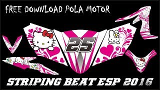 Video Striping Beat ESP 2016 Full Body + Free Download Pola Striping Motor - Hello Kitty Concept download MP3, 3GP, MP4, WEBM, AVI, FLV Juni 2018