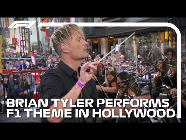 Brian Tyler Performs The F1 Theme Live At The Heineken F1 Hollywood Festival