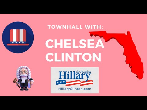 Chelsea Clinton Discusses Supreme Court, Healthcare and More in Tallahassee, Florida