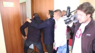 Филатов и Лысенко избили активиста. Видео, ч.1