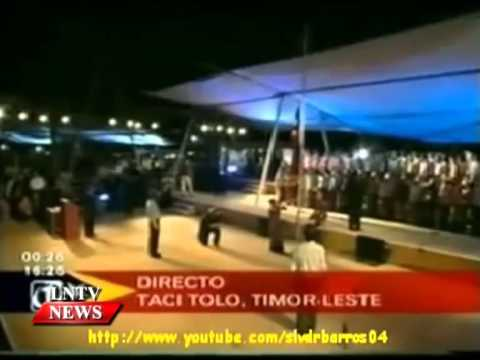 Lao NEWS on LNTV: President Choummaly Sayasone congratulates the Republic of Timor-Leste.26/5/2015