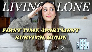 Moving Out For The First Time Survival Tips  Adulting with Naturally Negeen