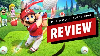 Mario Golf: Super Rush Review (Video Game Video Review)
