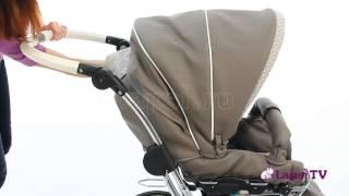 Обзор коляска 2 в 1 Teutonia Elegance 2015 Кожаный дизайн (Теутония Элеганс)