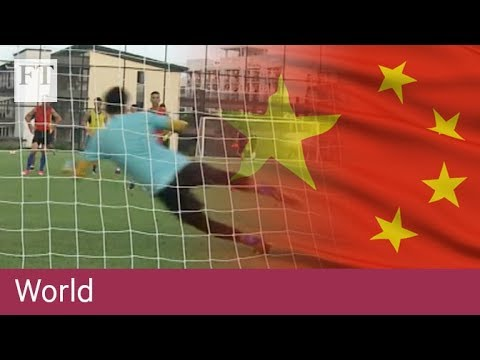 All to play for: China's football revolution
