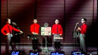 "Kraftwerk live on TV show in october 1978 . 2 songs: ""the robots"" ""..."