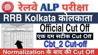 ALP CBT2 CUT OFF 2018    RRB kolkata Zone ALP CBT2 Cut Off