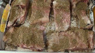 Рецепт приготовления толстолобика на мангале
