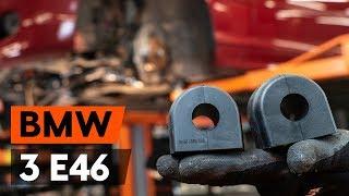 Hogyan cseréljünk Stabilizátor gumi BMW 3 Convertible (E46) - online ingyenes videó
