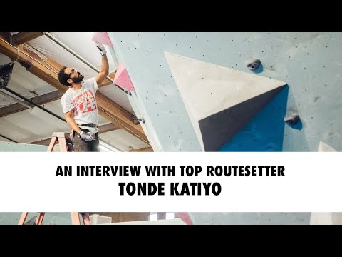 In Isolation - Ep. 11: An Interview with Top Routesetter Tonde Katiyo