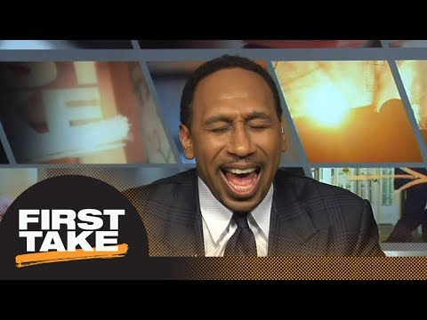 Stephen A. calls Michael Irvin 'Mr. Pom Pom' in hilarious back and forth   First Take   ESPN