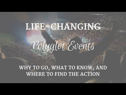 Life-Changing Polyglot Events