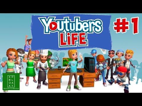 Youtubers Life ► Симулятор Ютубера ► #1
